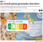 nrc_zo wordt pizza gezonder dan thee